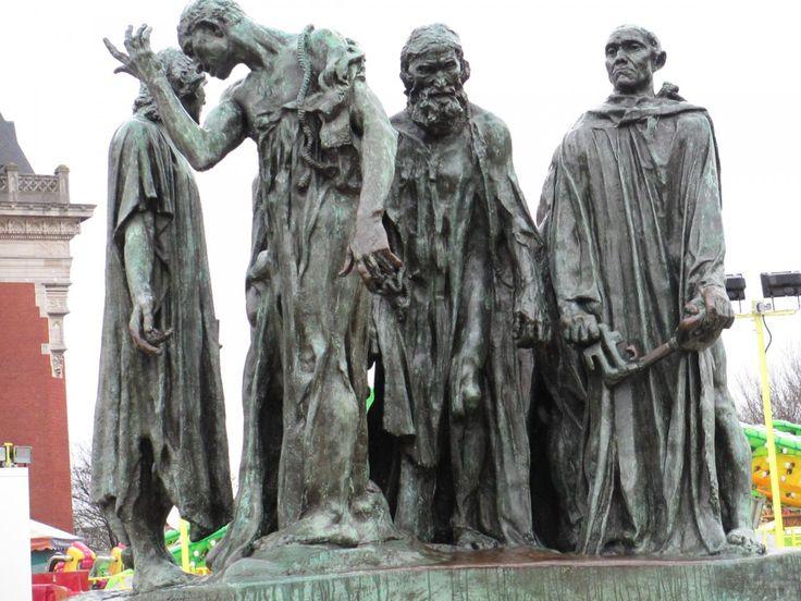 Les Six Bourgeois de Calais, Rodin