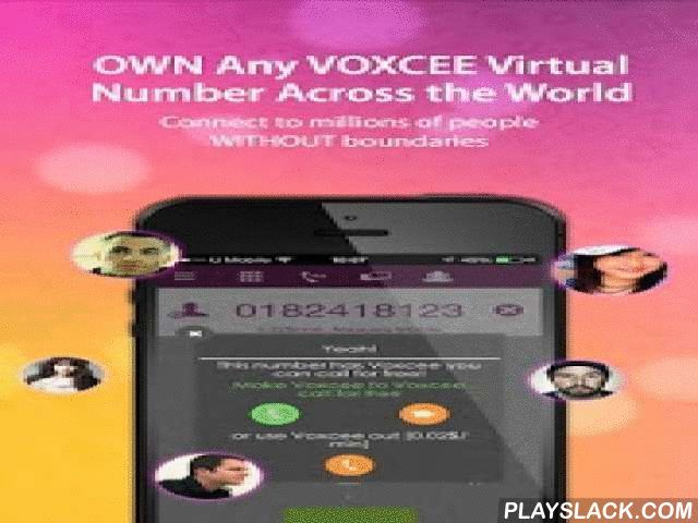 """Voxcee  Android App - playslack.com , Experiencing the """"Voxcee"""" way of innovative social communication. A mobile messaging application that allows you to """"always ON"""" connects with FREE VOICE CALLS, TEXT/CHAT and VIDEO CALLS to another VOXCEE user over 3G/4G & WiFi connection.Voxcee provides you """"peace of mind"""" even when you are calling to non-Voxcee user at DISCOUNTED RATES for both land-line and mobile line worldwide. Furthermore, you're able to subscribe to the wide range of respective…"""