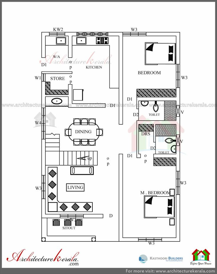Sweet Looking Architectural House Plans Kerala 15 78