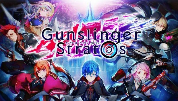 Gunslinger Stratos Reloaded , gameplay from Alpha Test , new mmo game Square Enix develepment