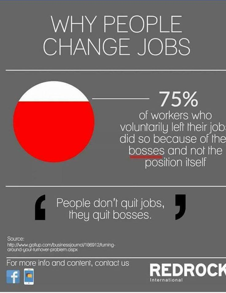 Why people quit change jobs