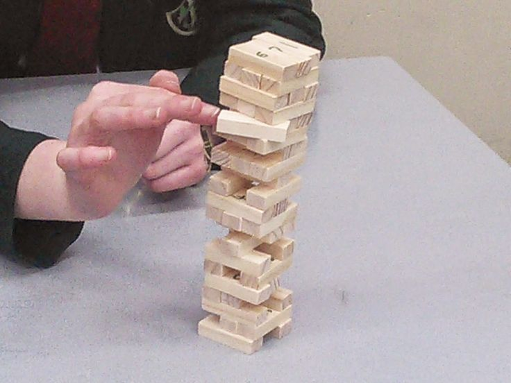 Staffroom Swop Shop: Jenga!