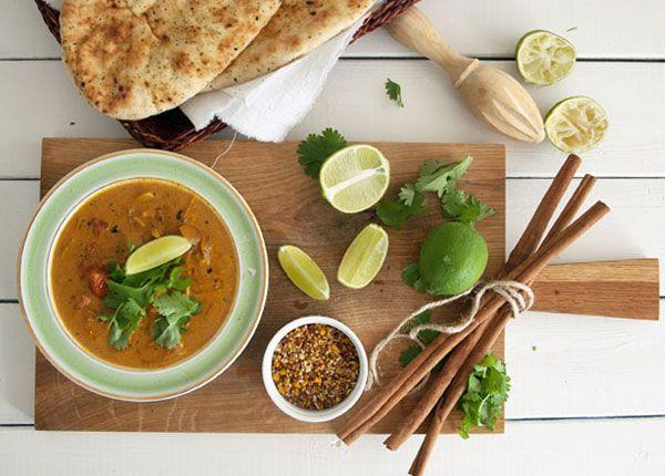 Indisk Curry med kylling