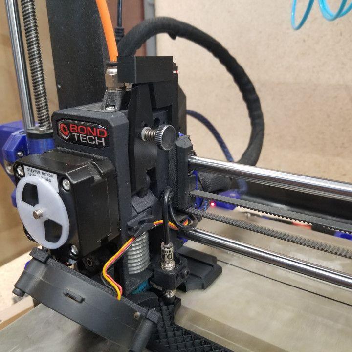 3d Printable Prusa Mk3s Mmu2s Ir Sensor Mount Bondtech Bmg By Joe Prints Sensor Mounting Replace Door