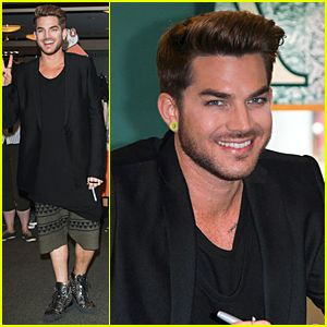 Adam Lambert Does Epic Kermit the Frog Impersonation + live performance of ghost town