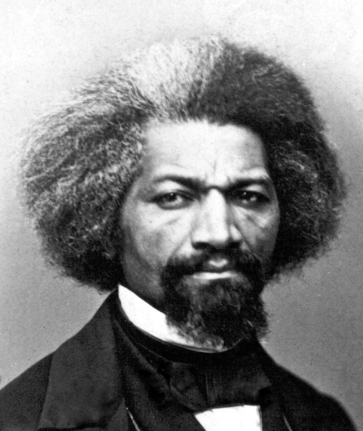 The most photographed American of the 19th century wasn't a bearded guy in a stovepipe hat.    It wasn't a president, an inventor, a captain of industry, a general or a crusty gent writing under the pen name Twain.    It was a former slave, Frederick Douglass, who rattled the chains of oppression in the nation's face.
