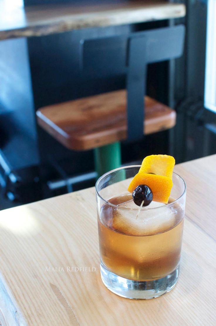 Bar Menu at Industry-Tigard, Oregon