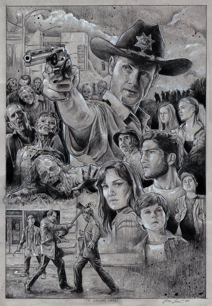 ...  what better way to celebrate then with a Walking Dead feature!