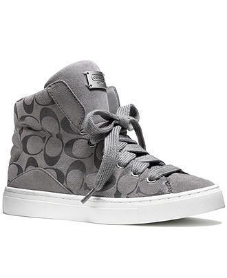 COACH RENEE SNEAKER - Coach Shoes - Handbags & Accessories - Macy's