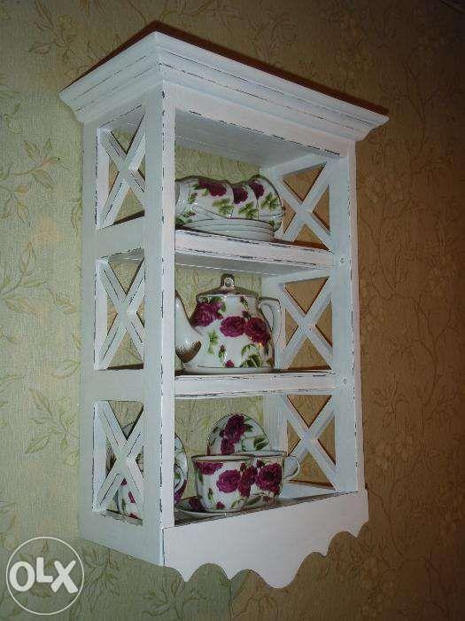 Полка этажерка прованс крашенная и состаренная