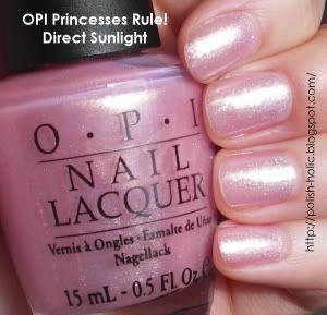 OPI Princesses Rule. Pretty shimmering pink