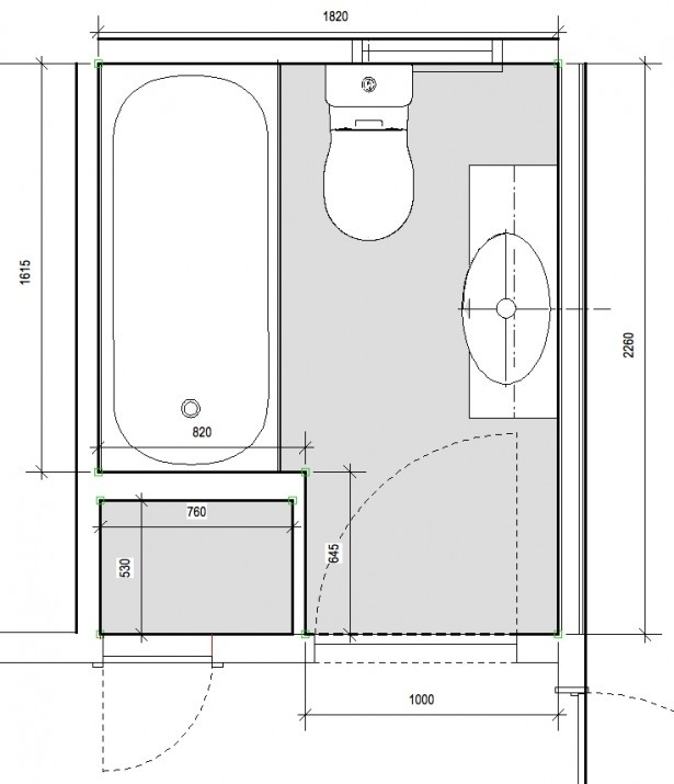 26 best images about small bathroom plans on pinterest for Planning a new bathroom