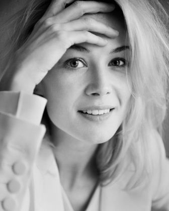 Rosamund Pike. I just love her in Pride and Prejudice!
