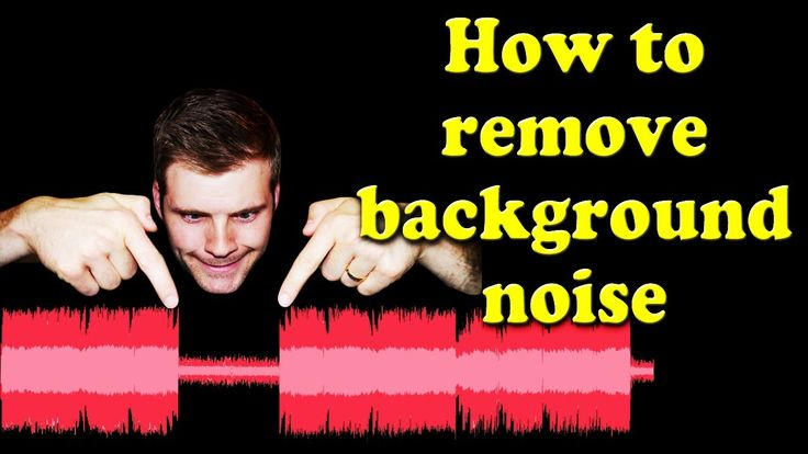 How to Remove Background Noise From Audio (Using Audacity)