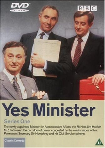 Yes Minister (1980)    Sr. Ministro, venha para Moçambique a nado :-)