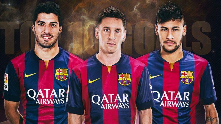 Messi - Suarez - Neymar ● TOP 10 Goals ● 2014/15 HD