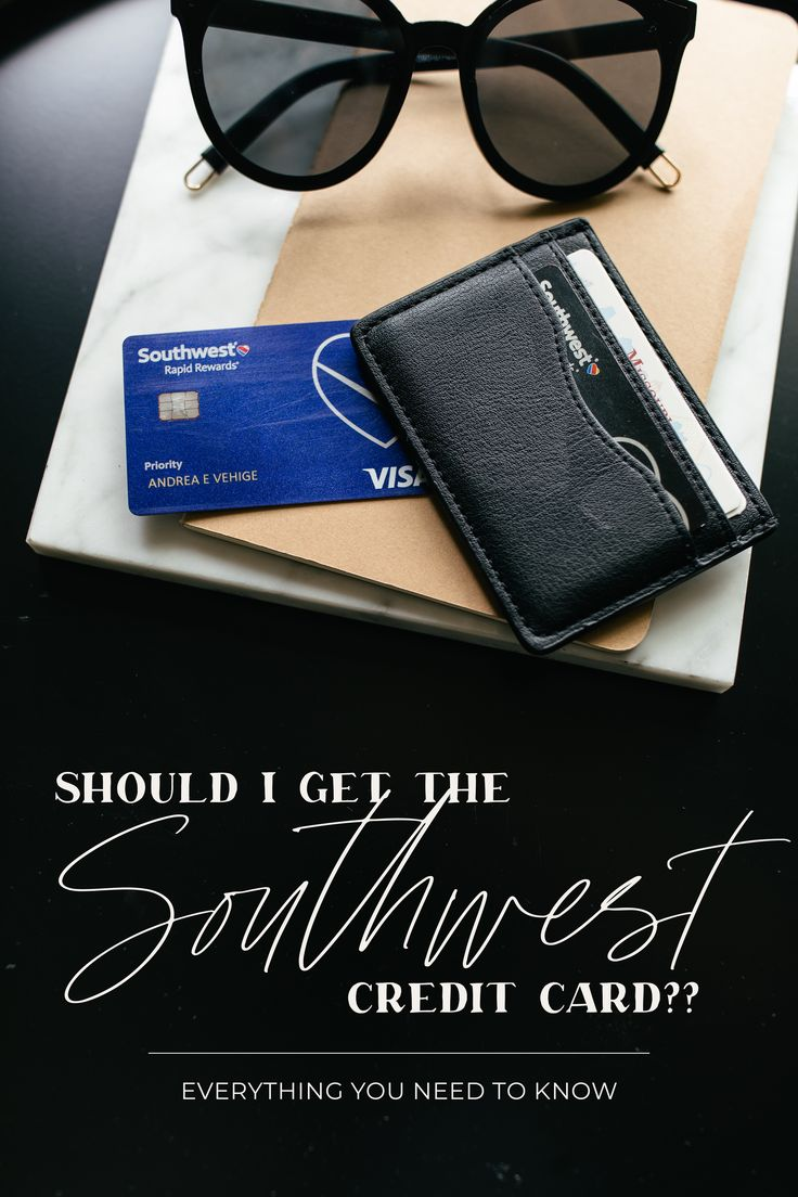 My Experience With The Southwest Rapid Rewards Credit Card