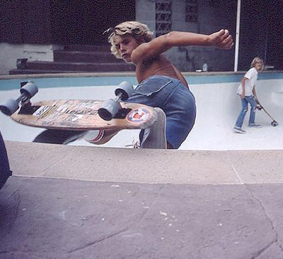 This is Jay Adams.The difference between the original skaters and the ones today is incredible.