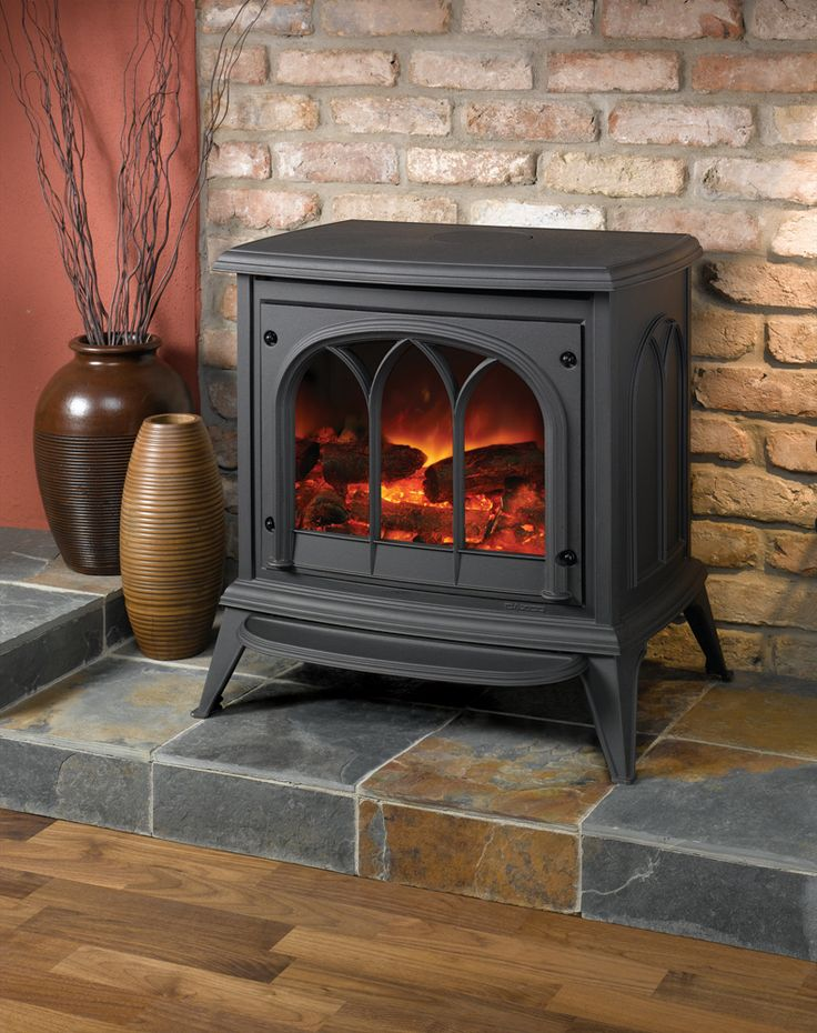 25 best electric stove fire ideas on pinterest. Black Bedroom Furniture Sets. Home Design Ideas