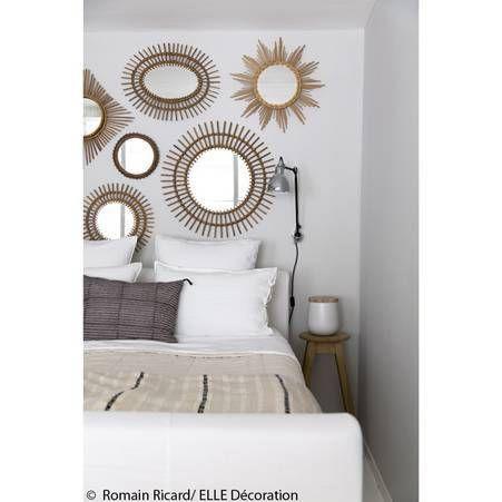 Idee deco n 4 une chambre avec un pan de mur ou les for Miroir 3 pans