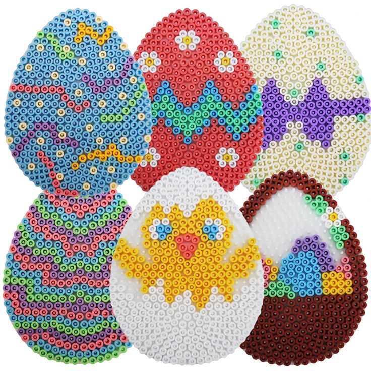 Egg Hama Beads Easter Designs Pack