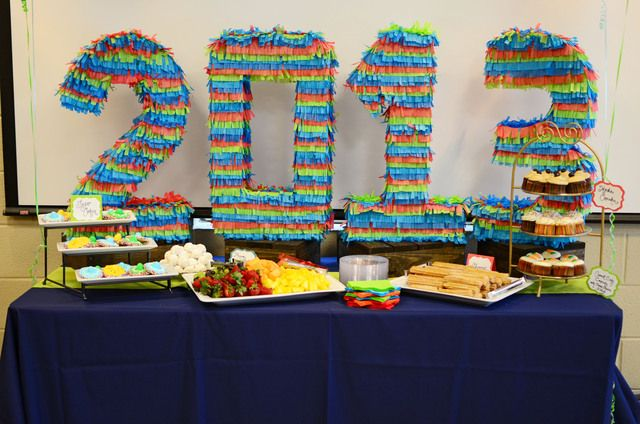 "Photo 1 of 9: Mexican Fiesta / Graduation/End of School ""Graduation Fiesta"" | Catch My Party"