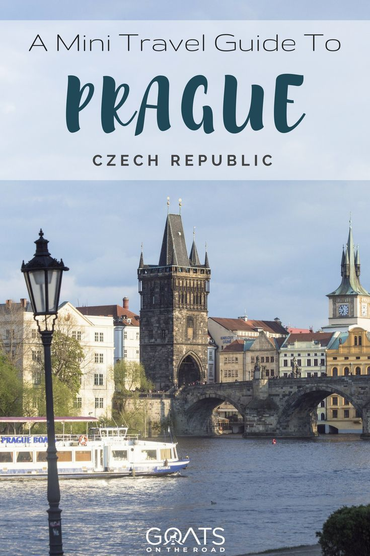 Travel Guide To Prague | Best Places In Czech Republic | European Travel Itinerary | #bestintravel #europe #europetravel #europeanadventures #prague #bestofprague #travelguide #backpacking #nextvacation #travel #bestofeurope #czechrepublic