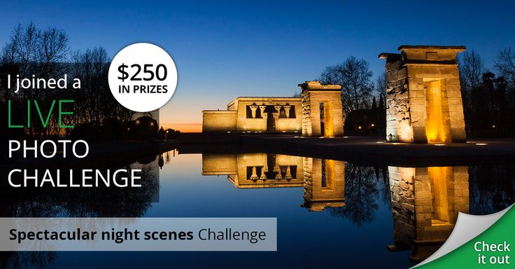 I joined The Spectacular Night Scene live photo challenge by sharing my photos.  Wish me luck!