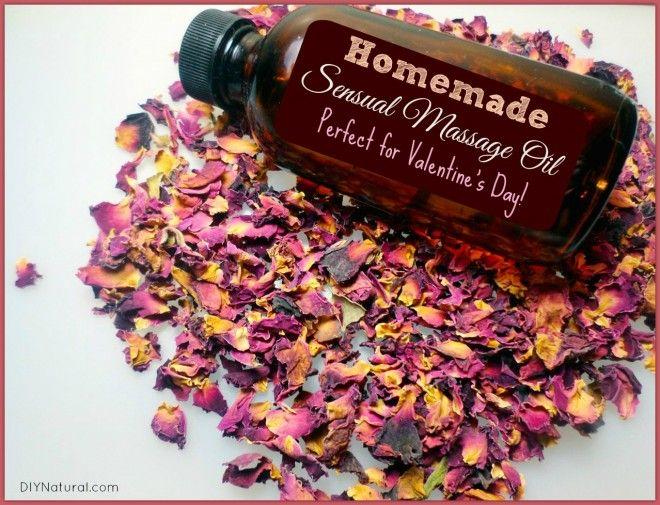 Homemade Massage Oil