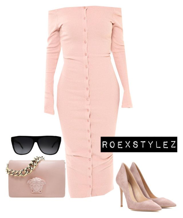 """""""Untitled #523"""" by style-ish ❤ liked on Polyvore featuring Yves Saint Laurent, Gianvito Rossi, women's clothing, women's fashion, women, female, woman, misses and juniors"""