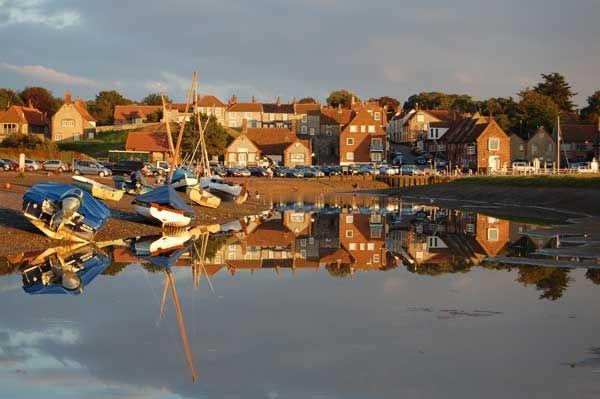 Blakeney harbour North Norfolk