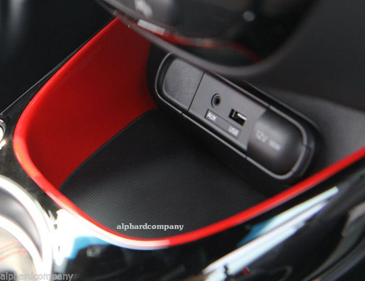 OEM TUON Red Floor Console Tray for 2014+ KIA SOUL $60