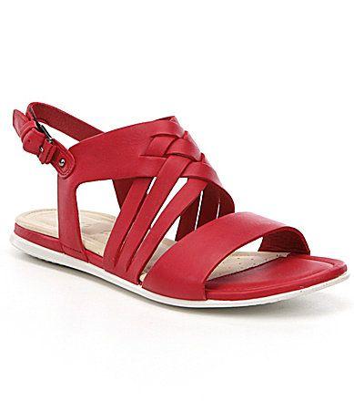 ECCO Touch Braided Sandals #Dillards