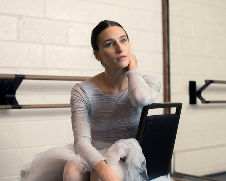 After a decade of waiting in the last line onstage, Ms. Teuscher is a soloist with American Ballet Theater and will make her New York debut this month.