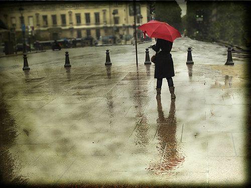 La chica del paraguas… by inmacor