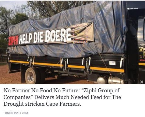 Coming together and helping the people in need👌👏 #NoFarmer #NoFood #NoFuture http://www.hinnews.com/za/national-news/no-farmer-no-food-no-future-ziphi-group-of-companies-delivers-much-needed-feed-for-the-drought-stricken-cape-farmers/
