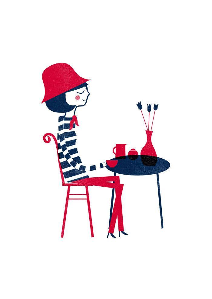 blanca gomez affiche parisienne blanca gomez mes habits ch ris kidstore r cr atif. Black Bedroom Furniture Sets. Home Design Ideas