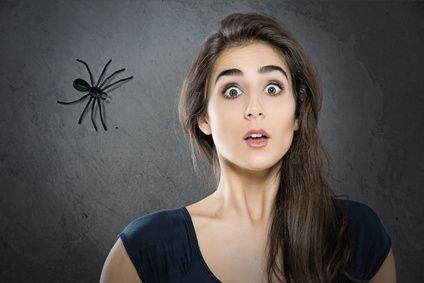 Mélangez 1/2 l de vinaigre blanc plus 30 à 50 gouttes d'huile essentielle de Niaouli, menthe poivré, et lavande, puis vaporisez ce mélange sur les lieux de passage des araignées sans oublier le pourtour des fenêtres et des portes