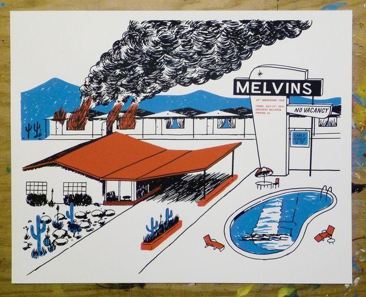 Melvins 30th Anniv. poster