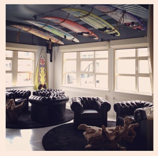 Our Hang Out Place With Old Surfboards Everything Beachy Pinterest