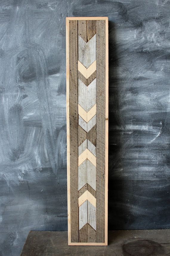Navajo Tribal Geometric Wood Patterned Wall Panel by newantiquity