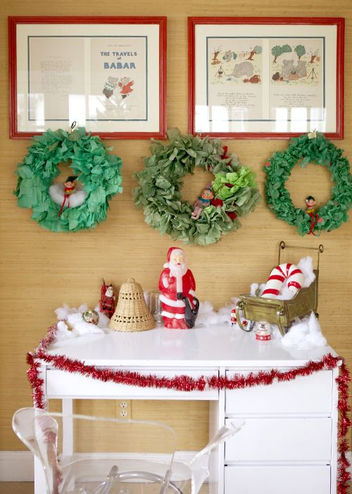 A holiday home tour. Living With Kids: Kayce Hughes.Kayce Hugh, Scrap Secret, Kids Room, Inspi Scrap, Christmas Decor, Happy Holiday, Christmas Trees