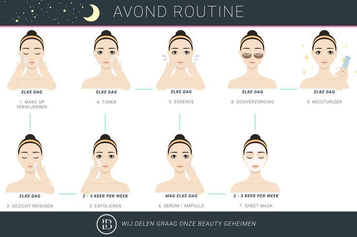 Koreaanse huidverzorging voor de avond uitgelegd door Life and Beauty shop #lifeandbeautyshop