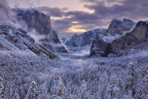 """etherealvistas:  """"The Color of Snow"""" by Mark Geistweite"""