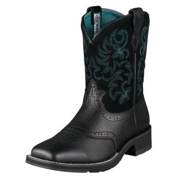 AHHH!! Love them!: Shoes, Square Toe Boots, Squares Toes Boots, Women Ranchbabi, Ariat Women, Black Deertan, Cowboy Boots, Ariat Ranchbabi, Ranchbabi Squares