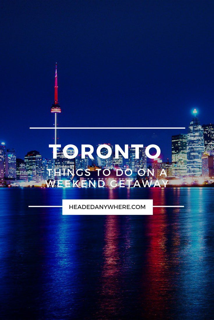 Click through to read what you should do on your Toronto vacation! Weekend Getaway: Things to Do in Toronto, Canada