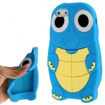 iPhone 5/5S Cases : 3D Tortoise Shape Silicon Case for iPhone 5