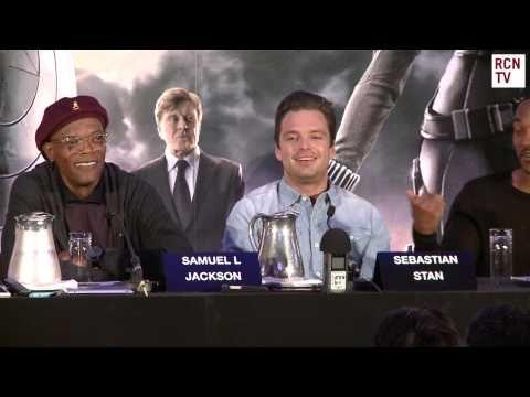 Sebastian Stan Interview Captain America The Winter Soldier Premiere - YouTube