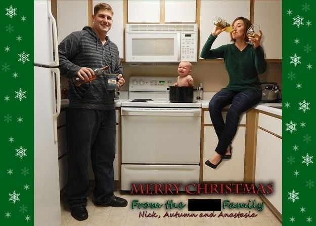 If you're an awesome parent. | 37 Awesome Christmas Card Ideas You Should Steal