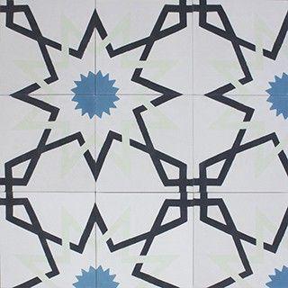 Starožitné vzory cementovej dlažby